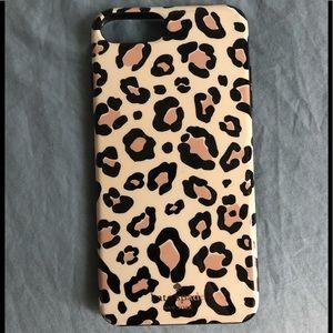 Kate Spade cheetah iPhone case